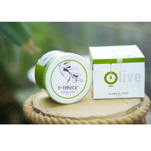 Muối tẩy tế bào chết Olive Swhite