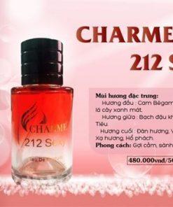 Nước hoa Charme 212 sexy 50ml dành cho Nam