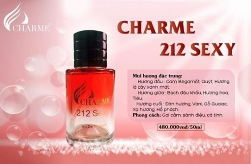 Nước hoa Charme 212 sexy 50ml hình 1